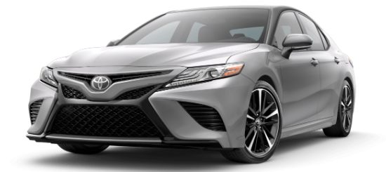 2020 Toyota Camry Celestial Silver Metallic with Midnight Black Metallic Roof
