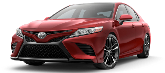 2020 Toyota Camry Supersonic Red