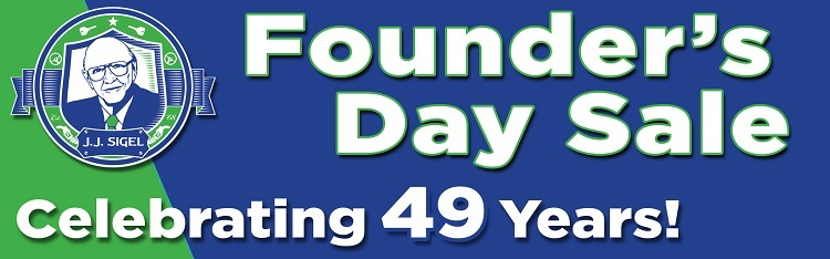 Founder's Day Sale