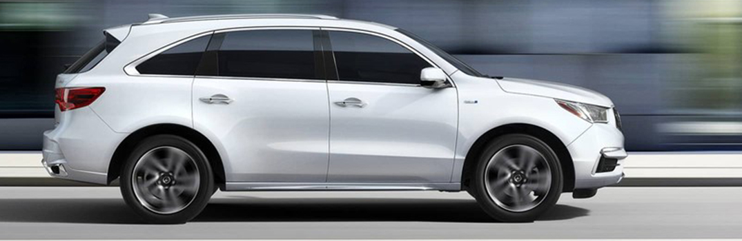 side view of the 2018 Acura MDX