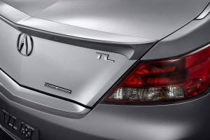 2014 Acura TL special edition rear exterior profile