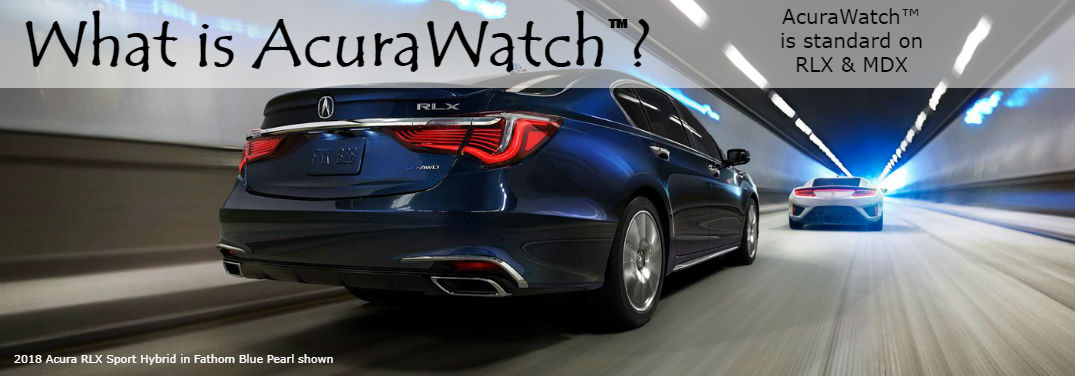 What is AcuraWatch™ and what features are included?