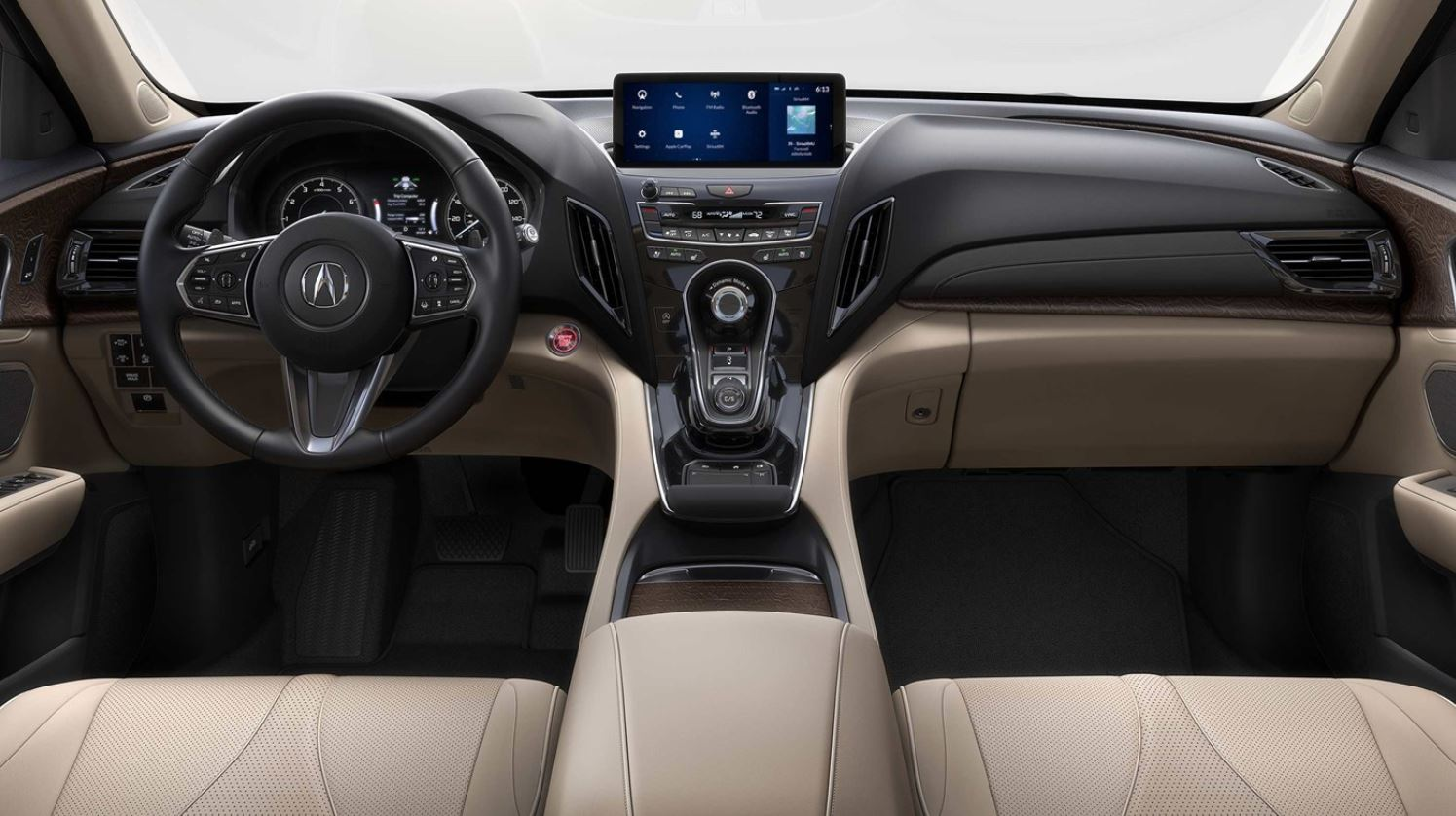 View Of The Front Interior Of The 2019 Acura RDX Prototype
