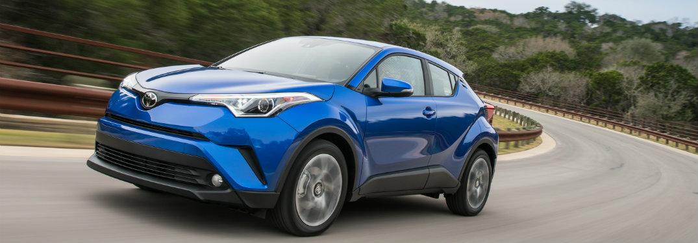 Blue 2018 Toyota C-HR