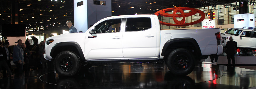 White 2019 Toyota Tundra from CAS 2018_