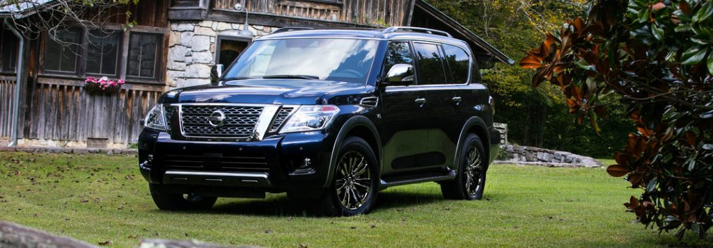Images of the 2018 Nissan Armada Platinum Reserve model
