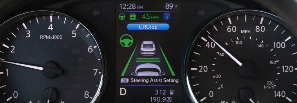 What does Nissan ProPILOT Assist do?