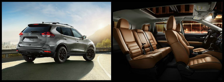 Collage Of 2018 Nissan Rogue Interior And Exterior