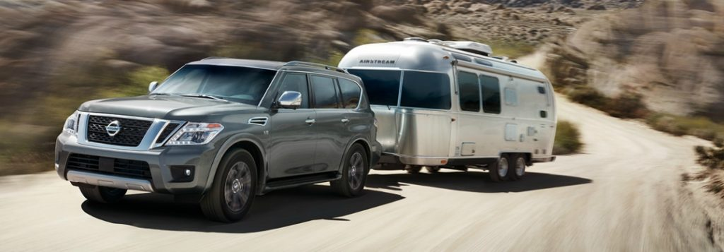 2018 Nissan Armada Engine Specs and Cargo Space
