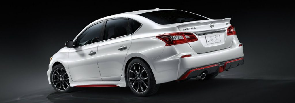 Nissan NISMO Trim Level Features on the 2018 Sentra