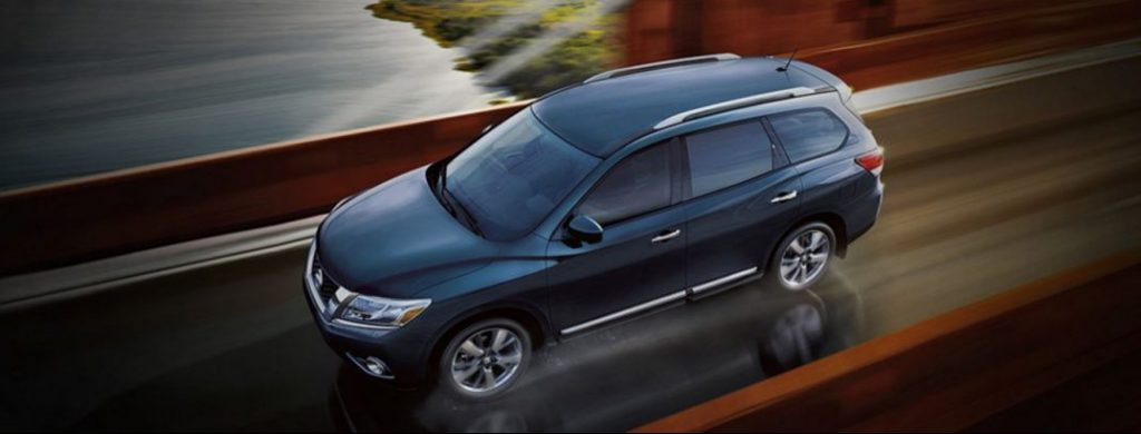 How many people does the Nissan Pathfinder seat?