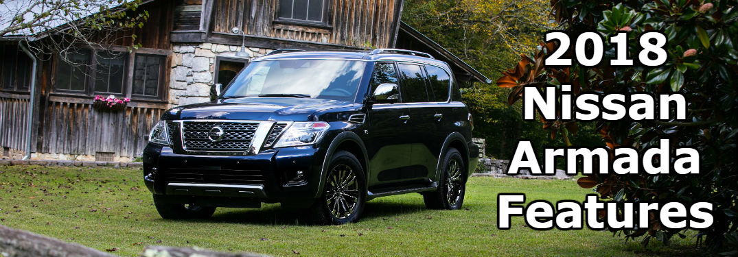 2018 Nissan Armada front side exterior