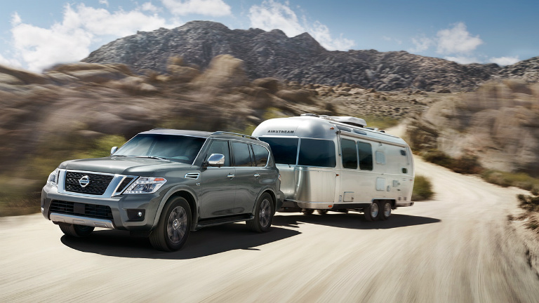 2018 nissan armada towing capacity comparison. Black Bedroom Furniture Sets. Home Design Ideas