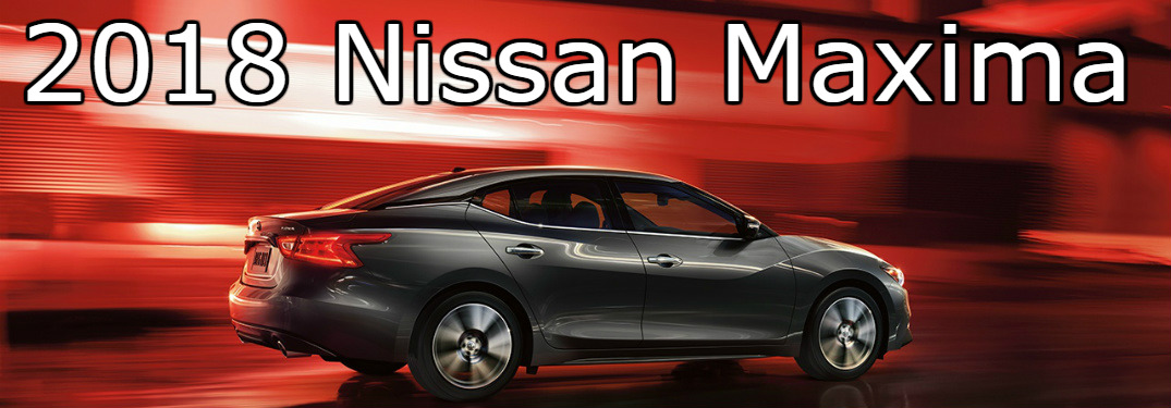gray 2018 Nissan Maxima side view