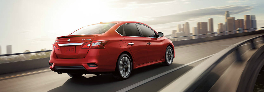 red 2018 Nissan Sentra front side view