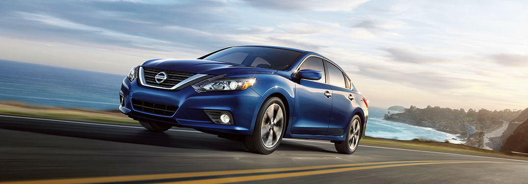 2018 Nissan Altima driving on road