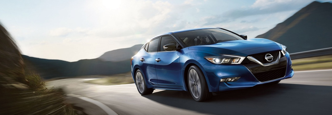 blue 2018 Nissan Maxima front side view