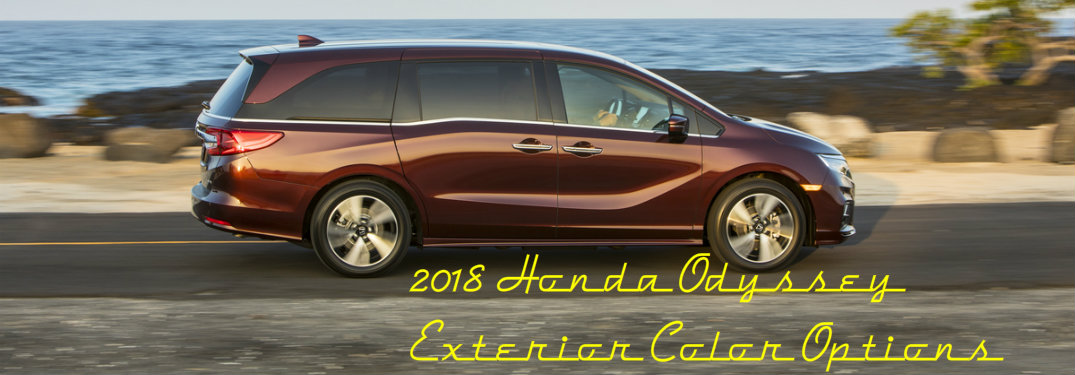 What Honda Odyssey Color Is Right For You?