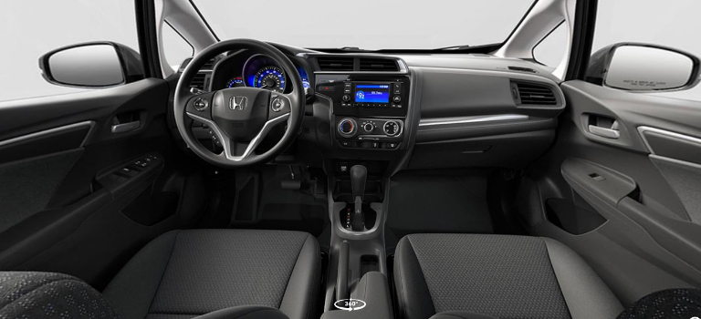 2019 Honda Fit Interior In Black Cloth O Cape Girardeau Honda