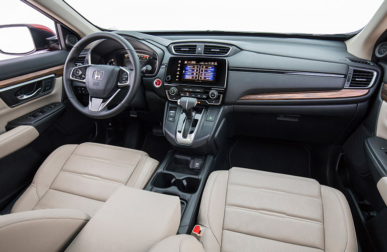 Does the 2019 Honda CR-V come with a CD player?