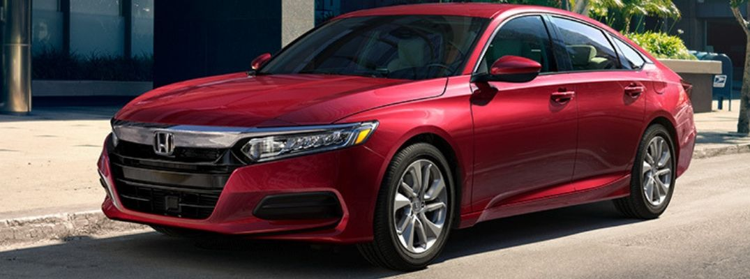 What Colors Does the 2019 Honda Accord Come In?