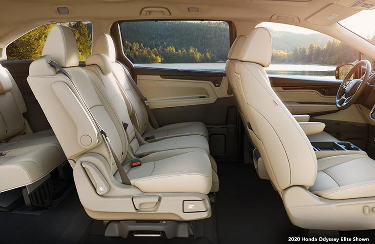 2020 Honda Odyssey interior. 2020 Honda Odyssey Elite Shown.
