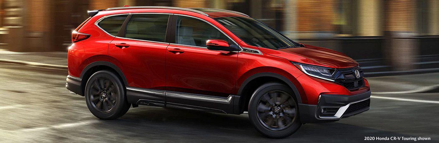 2020 Honda CR-V Touring on city street