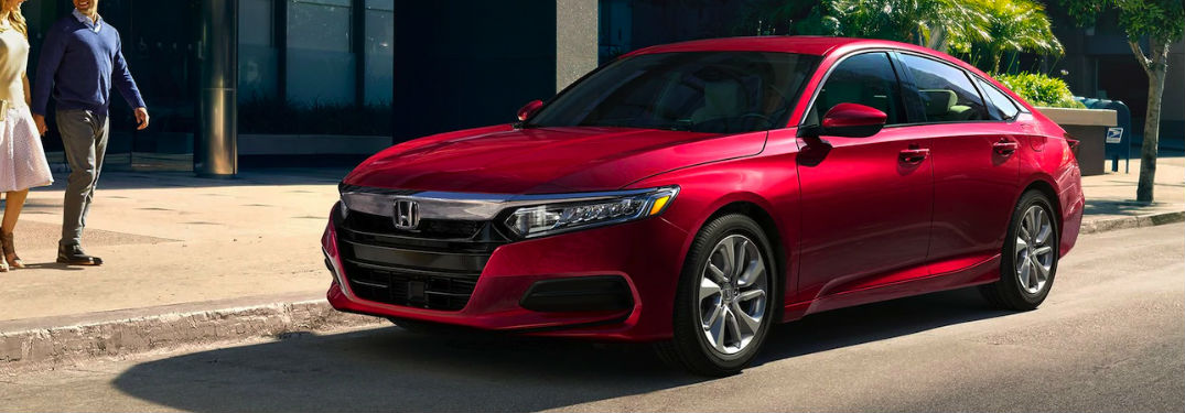 2020 Honda Accord in red
