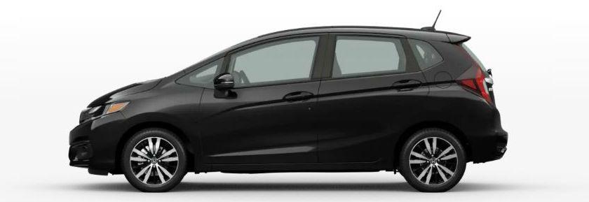 2020 Honda Fit in Crystal Black Pearl