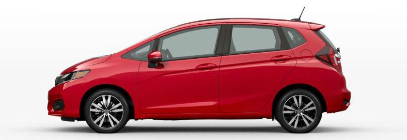 2020 Honda Fit in Milano Red
