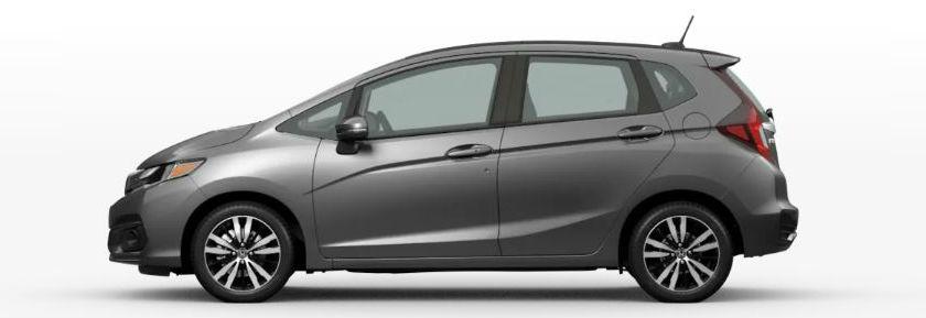 2020 Honda Fit in Modern Steel Metallic