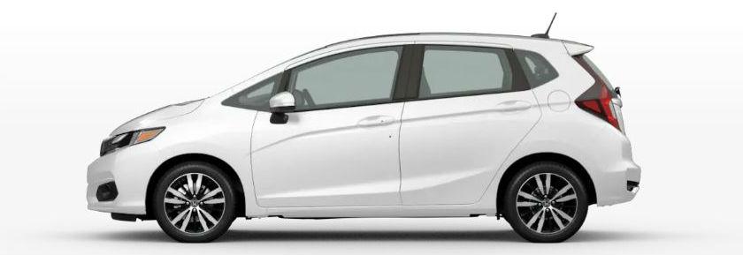 2020 Honda Fit in Platinum White Pearl