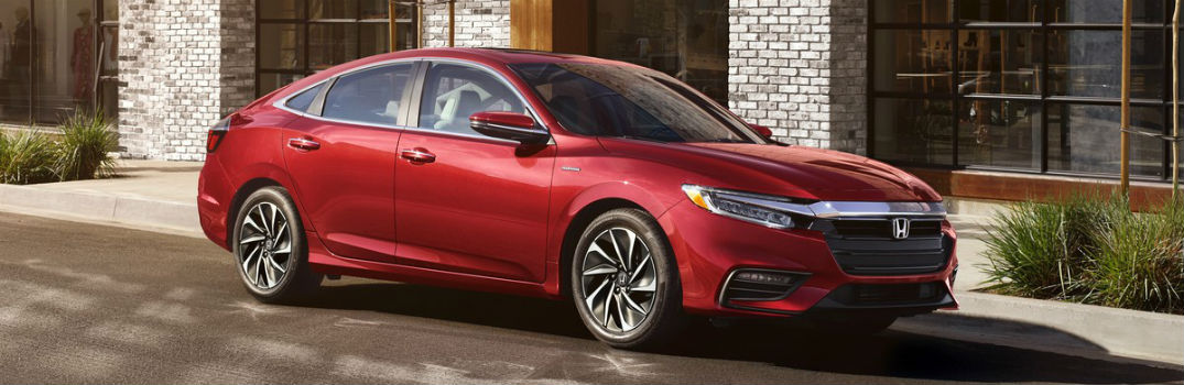 2021 Honda Insight Exterior Passenger Side Front Profile