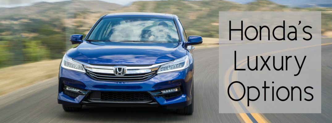 What Is Honda S Luxury Car