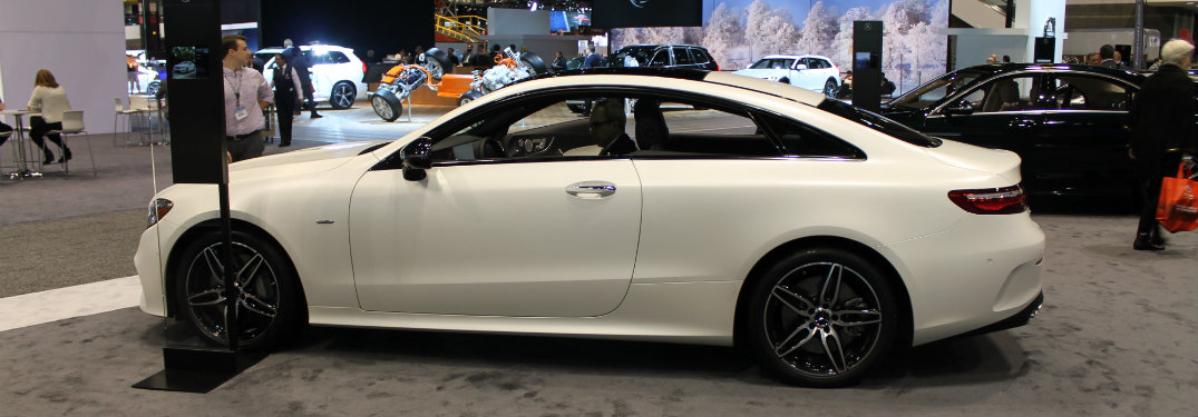 Photos of the 2017 chicago auto show e class coupe debut for Chicagoland mercedes benz dealers