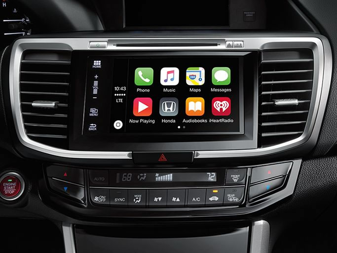 2017 Accord Sedan Apple Carplay