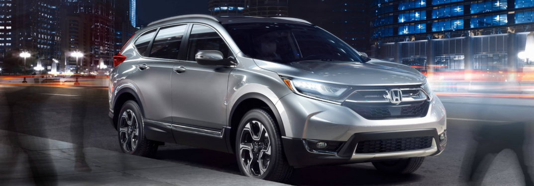 The new CR-V is at West County Honda