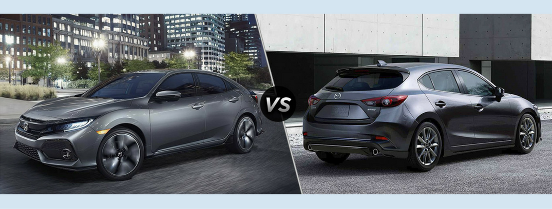 Honda Civic 2016 Vs 2017 >> 2017 Honda Civic Vs 2017 Mazda3
