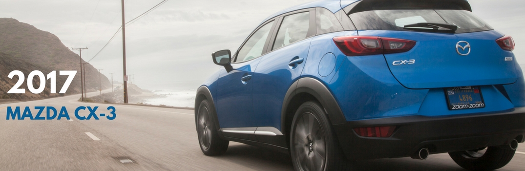 2017 Mazda CX-3 features and trim options