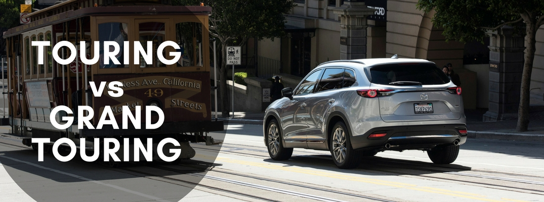 2017 mazda cx-9 touring vs grand touring comparison