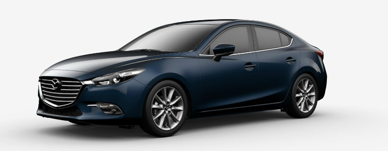2017 Mazda3 Deep Crystal Blue Mica