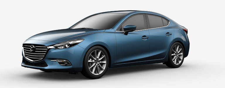 2017 Mazda3 Eternal Blue Mica