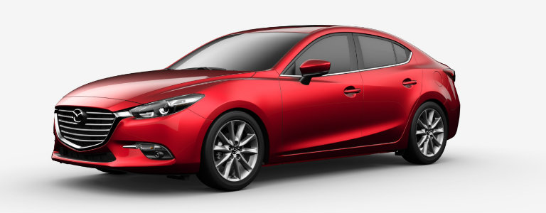 2017 Mazda3 Soul Red Metallic