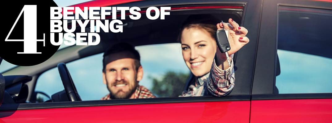 4 Benefits of buying a used car
