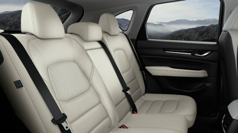 2017 Mazda CX-5 rear seat legroom