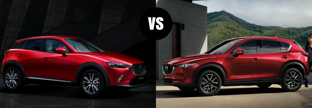 Is the Mazda CX-5 bigger than the Mazda CX-3