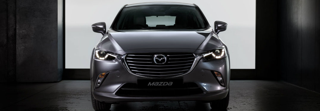 2018 Mazda CX-3 front grille