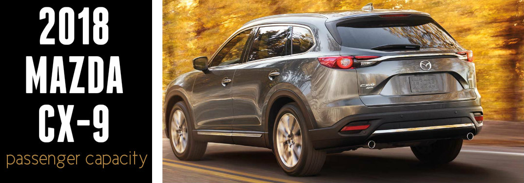 2018 Mazda CX-9 exterior from rear