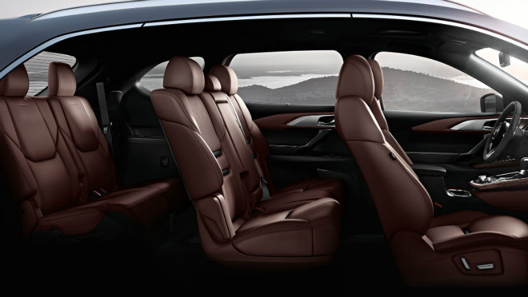 2018 Mazda CX-9 three rows of seating