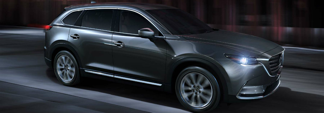 2018 Mazda CX-9 color options